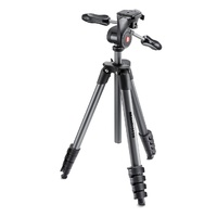 Manfrotto Tripod Compact Advanced  3 Way Head incl Carry Bag  MKCOMPACTADV