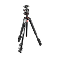 Manfrotto 190 Aluminium 4-Section Tripod with XPRO Ball Head   MK190XPRO4-BHQ2