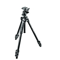 Manfrotto 290 Light Alu 3-Section Tripod Kit with 494RC2 Ball Head