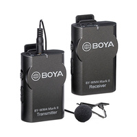 BOYA BY-WM4 MARK II WIRELESS MICROPHONE SYSTEM (2.4GHZ WIRELESS, 50M)
