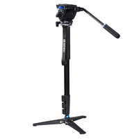 BENRO A35FDS4 ALUMINIUM VIDEO MONOPOD KIT WITH S4 HEAD