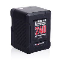 ROLUX Mini 240Wh Li-ion Battery V-mount Lock YC-240S