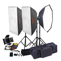 GODOX QS800II X3 STUDIO FLASH LIGHTING KIT