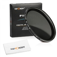 K&F CONCEPT 67MM ND2-ND400 VARIABLE FADER NDX NEUTRAL DENSITY FILTER KF01.070