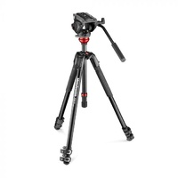 Manfrotto  Video Tripod 190X with MVH500AH fluid head MVK500190XV