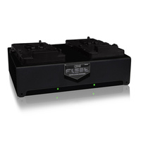 Core SWX Fleet 2-Bay V-Mount Fast Charger D2S