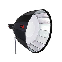 JINBEI 120cm QuickFold Deep Parabolic Softbox With Grid - Bowens