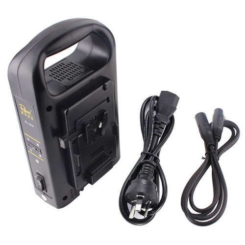 ROLUX V-MOUNT BATTERY DUAL CHARGER